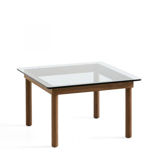 Hay Kofi Coffee Table 60x60cm Walnut Frame