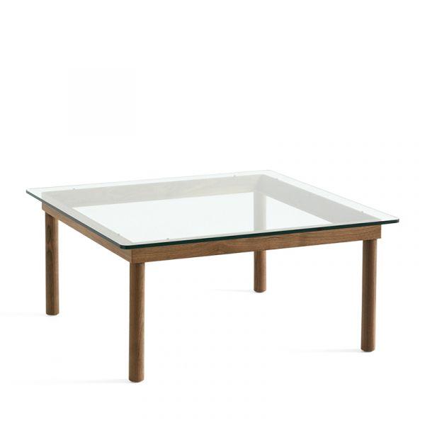 Hay Kofi Coffee Table 80x80cm Walnut Frame