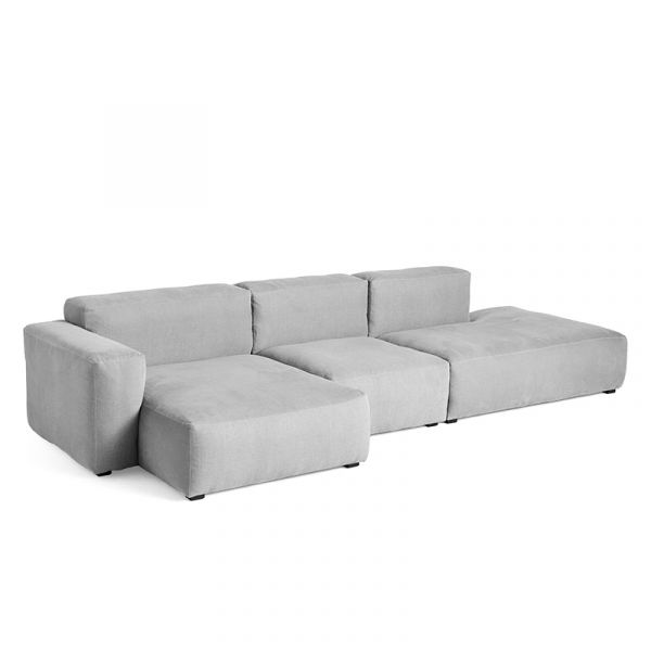 Hay Mags Soft 3 Seater Sofa Low Armrest Configuration 04