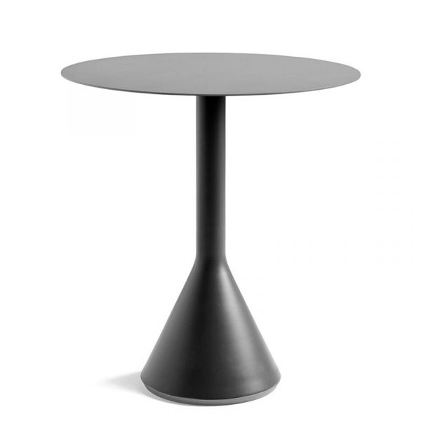 Hay Palissade Cone Table Round 70cm Anthracite