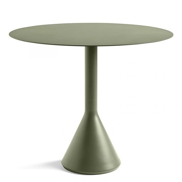 Hay Palissade Cone Table Round 90cm Olive