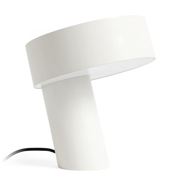 Hay Slant Table Lamp White