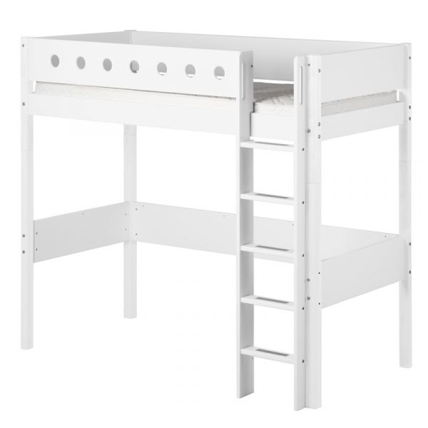 Flexa White High Bed