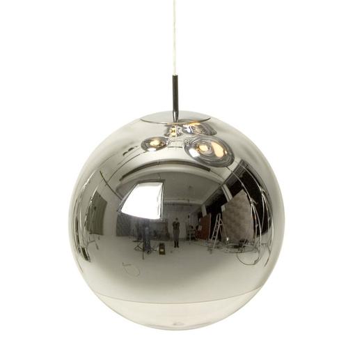 Tom Dixon Mirror Ball LED Pendant Light Chrome 50cm