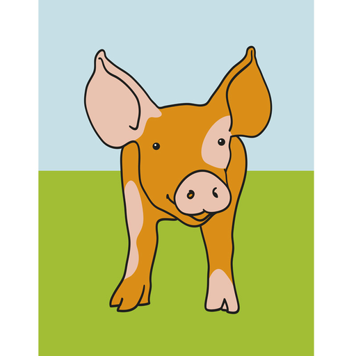 Innes Animal Print Pig (CH_013)