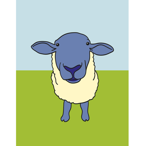 Innes Animal Print Sheep (CH_014)