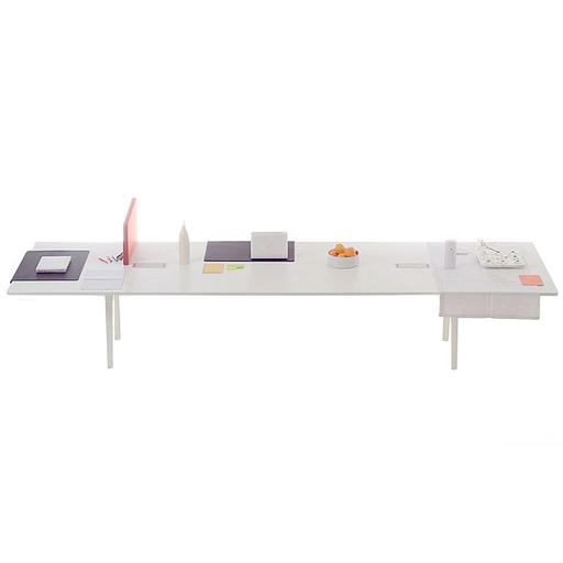 Vitra Joyn Table 240cm White Melamine