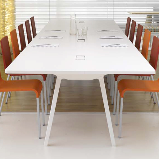 Vitra Joyn Table 320cm x 100cm  White Melamine