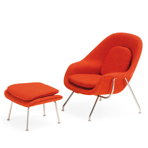 Vitra Miniature Womb Chair & Ottoman Miniature Collection