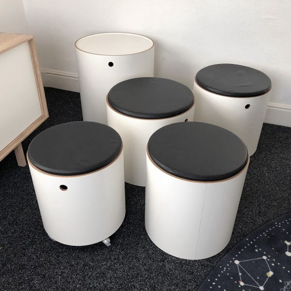 Verpan Party Set White Ex-DIsplay Was £2020 Now £1195