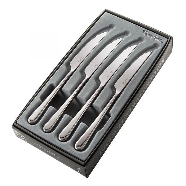 Robert Welch Iona Bright Steak Knives x4