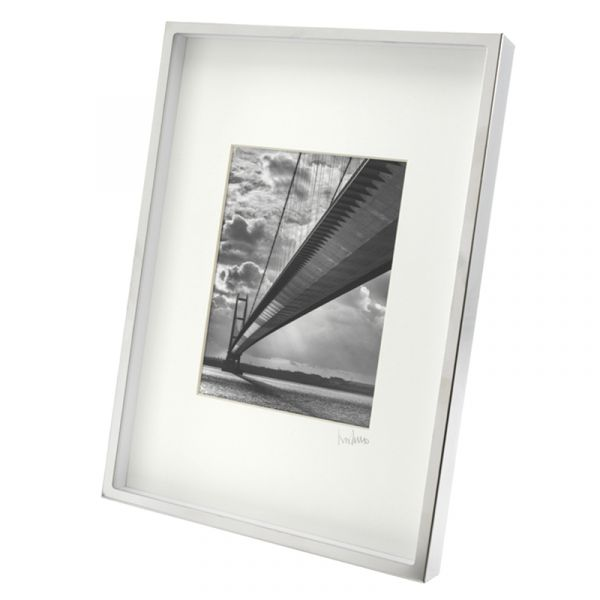 Humber Bridge 044A Art Print in Steel Box Frame 37.5cm x 27cm