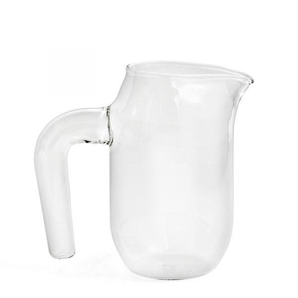 Hay Jug Clear Glass Small