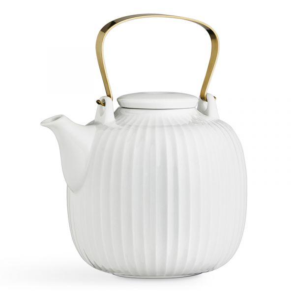 Kahler Hammershoi Teapot White