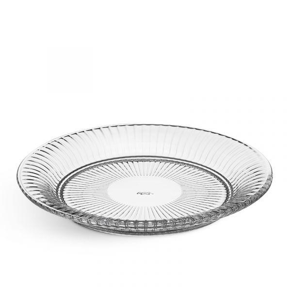 Kahler Hammershoi Glass Plate Clear 22cm