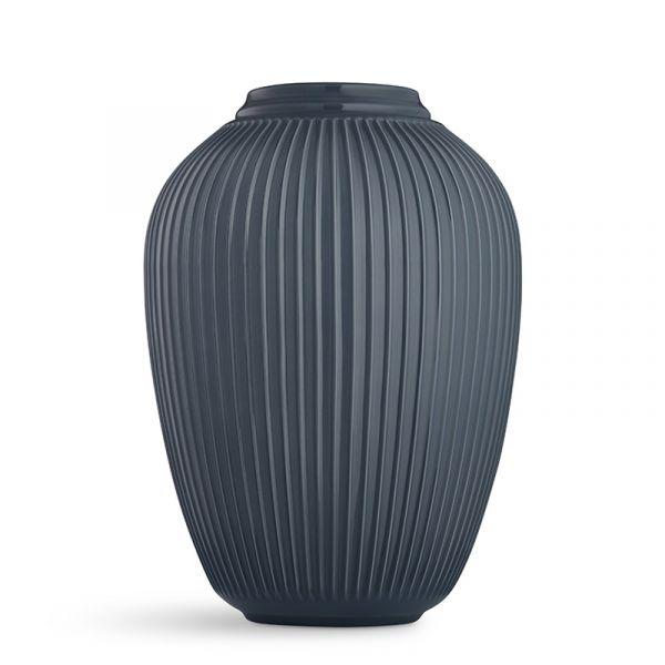 Kahler Hammershoi Floor Vase Anthracite H50cm