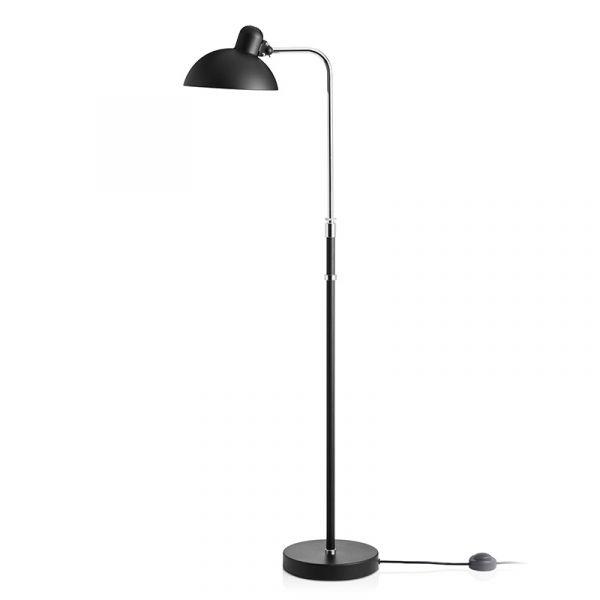 Kaiser idell 6580-F Floor Lamp Matt Black