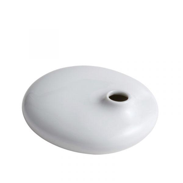 Kinto Sacco Porcelain Vase 01 White
