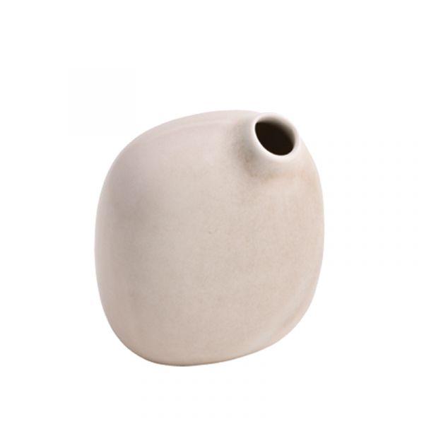 Kinto Sacco Porcelain Vase 02 Pink
