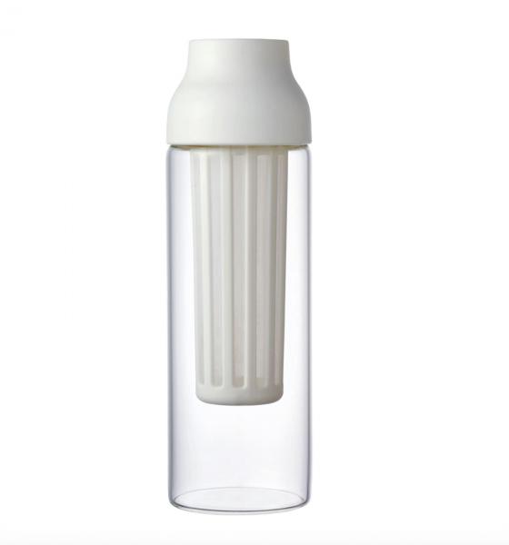 Kinto Capsule Coffee Cold Brew Carafe 1L White