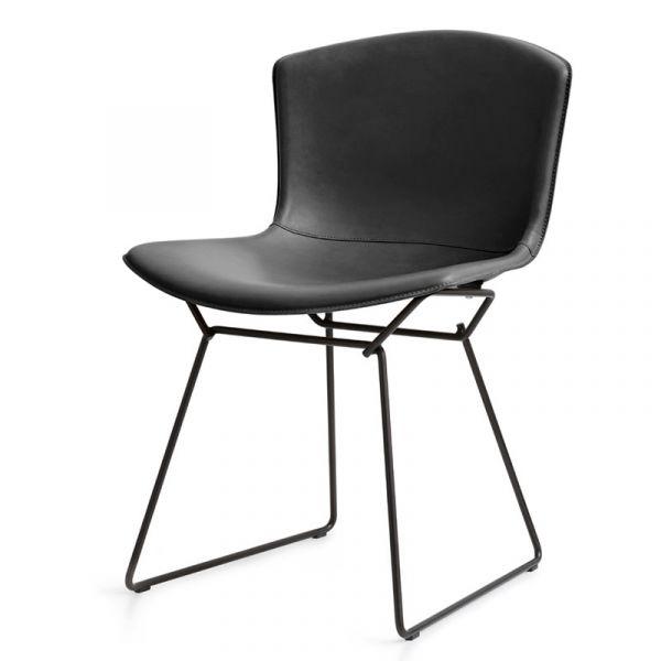 Knoll Bertoia Side Chair in Cowhide