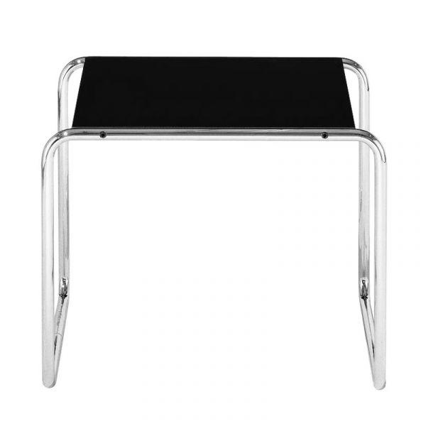 Knoll Laccio Low Table Square Quickship Black Laminate
