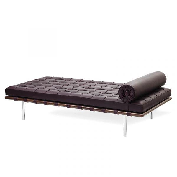 Knoll Barcelona Day Bed Relax Special Edition Venezia Leather