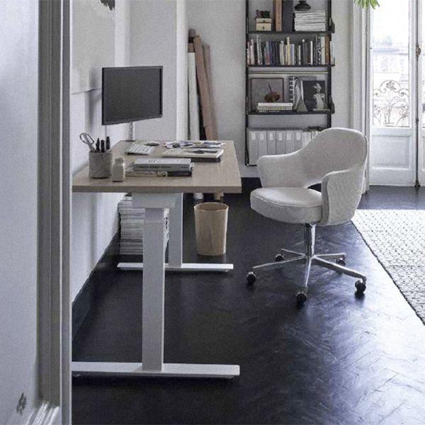 Knoll Grasshopper Height Adjustable Desk 160x80cm Square Edges