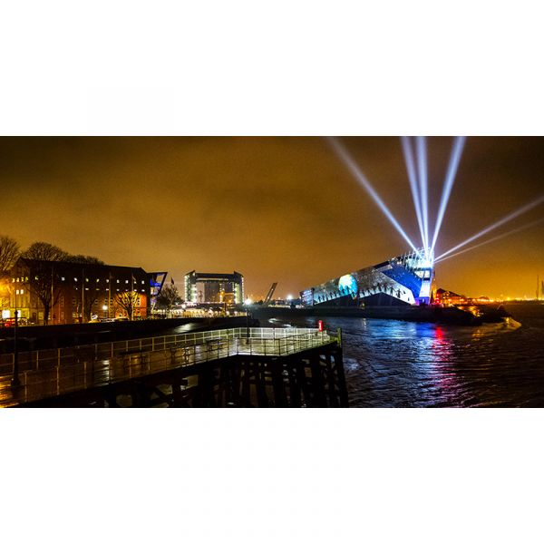Limited Edition 'Made In Hull' 001 UK City Of Culture 2017 60x30in Canvas Print