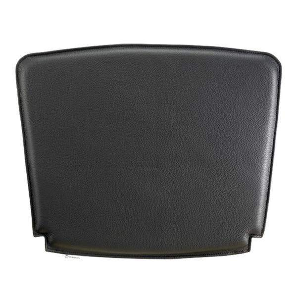 Carl Hansen CU CH22 Cushion for the CH22 Lounge Chair Black Leather