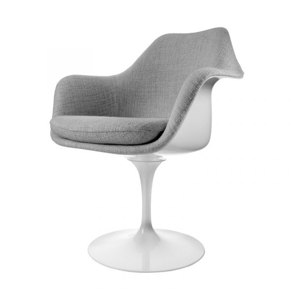 Knoll Saarinen Tulip Armchair Upholstered Inner Shell And Seat Cushion