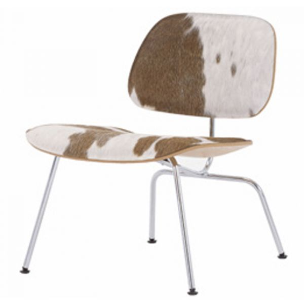Vitra Eames LCM Calf's Skin Plywood Group Chair