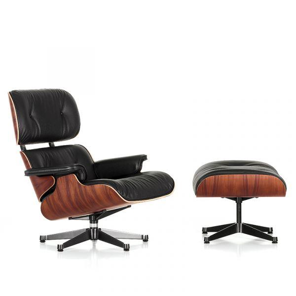 Vitra Eames Lounge Chair & Ottoman Santos Palisander