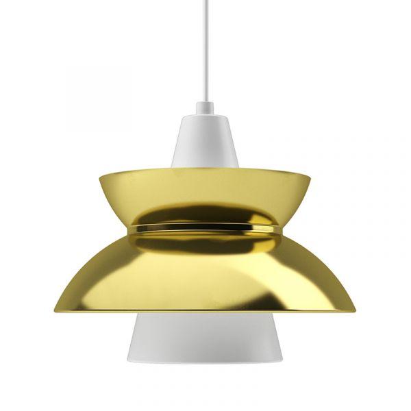 Louis Poulsen Doo-Wop Pendant Light Brass
