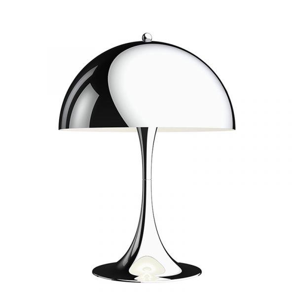 Louis Poulsen Panthella 320 Table Lamp Chrome Plated