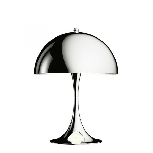 Louis Poulsen Panthella Mini Table Lamp Chrome Plated