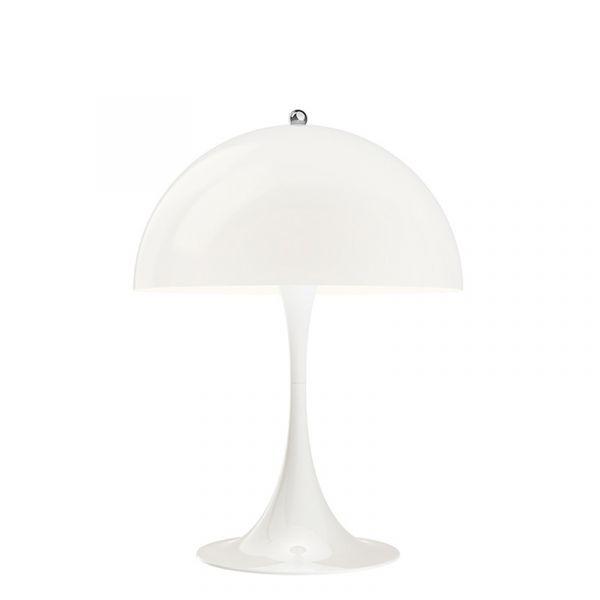 Louis Poulsen Panthella Mini Table Lamp White Opal Acrylic