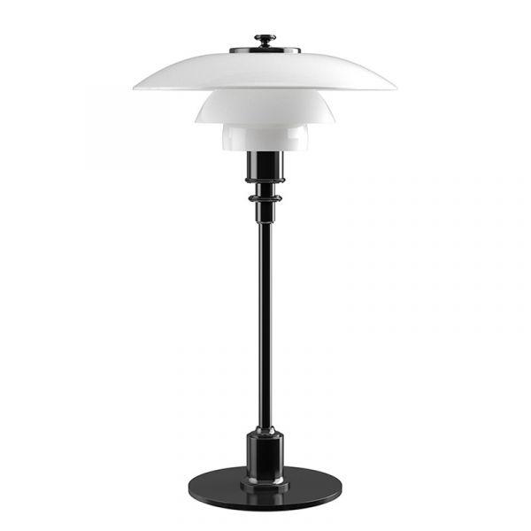 Louis Poulsen PH 2/1 Table Lamp Black Metallised