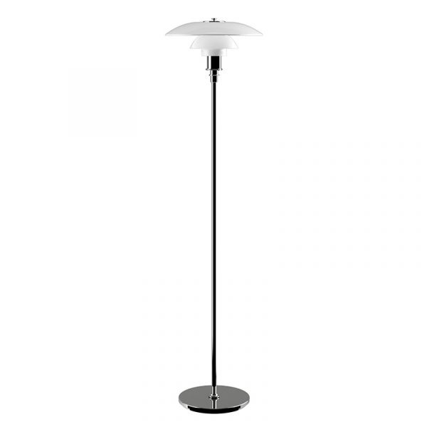 Louis Poulsen PH 3.5 - 2.5 Floor Lamp Chrome Plated