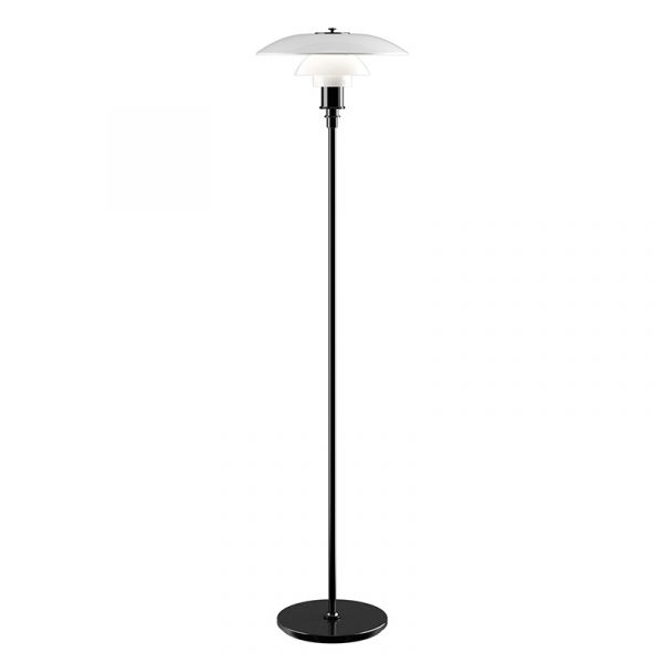 Louis Poulsen PH 3.5 - 2.5 Floor Lamp Black Metallised