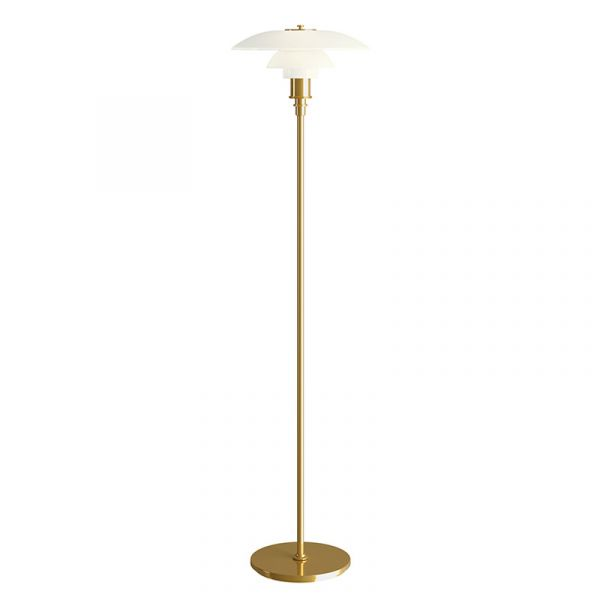 Louis Poulsen PH 3.5 - 2.5 Floor Lamp Brass Metallised
