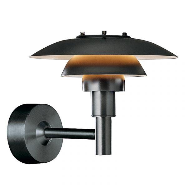 Louis Poulsen PH 3 - 2.5 Wall Light Black