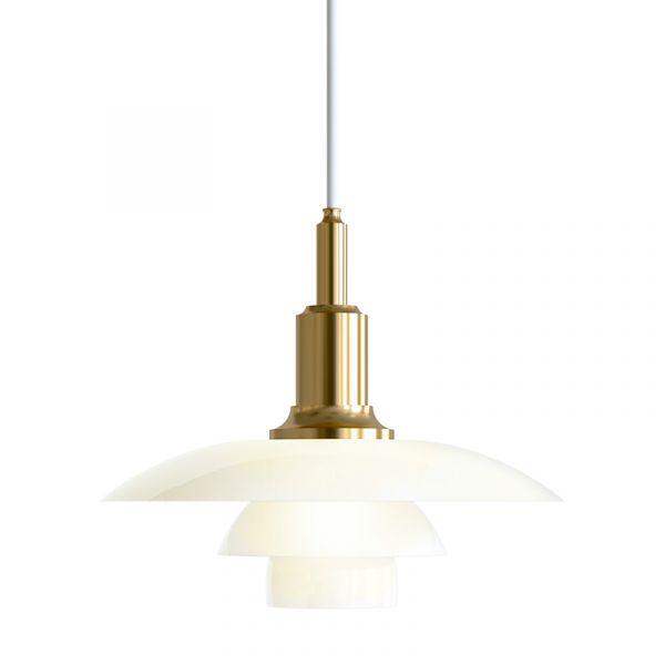 Louis Poulsen PH 3/2 Pendant Light Brass Metallised