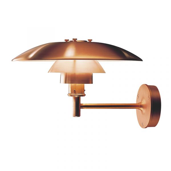 Louis Poulsen PH Wall Light Brushed Copper