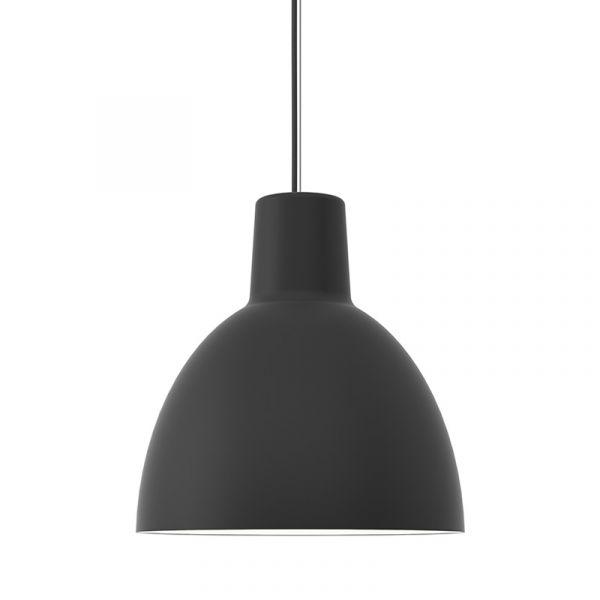 Louis Poulsen Toldbod 400 Pendant Light Black