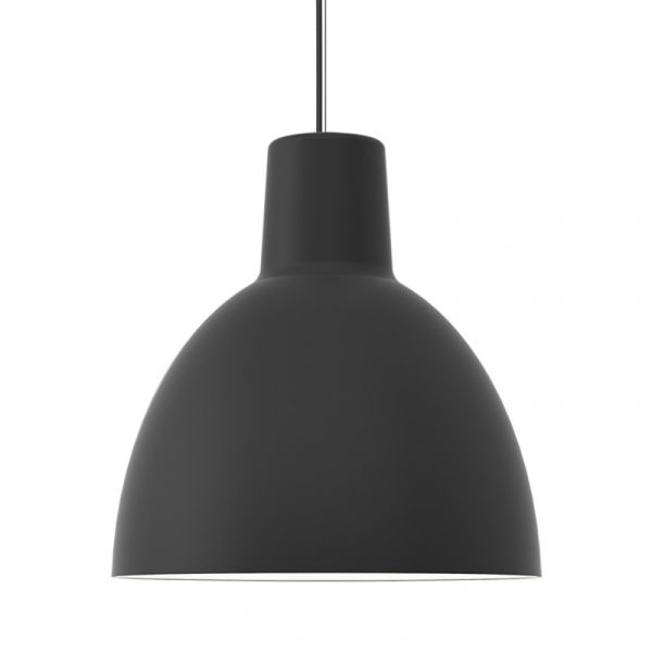 Louis Poulsen Toldbod 550 Pendant Light Black