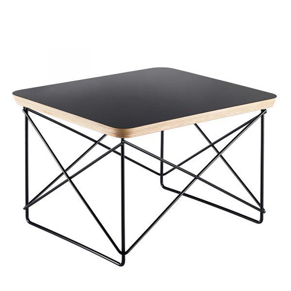 Vitra LTR Occasional Table Black HPL Laminate Black Base
