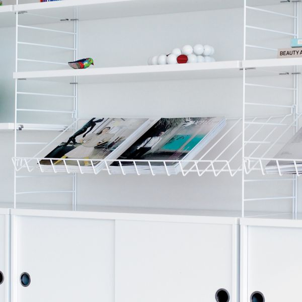 String System Magazine Shelf (Metal)