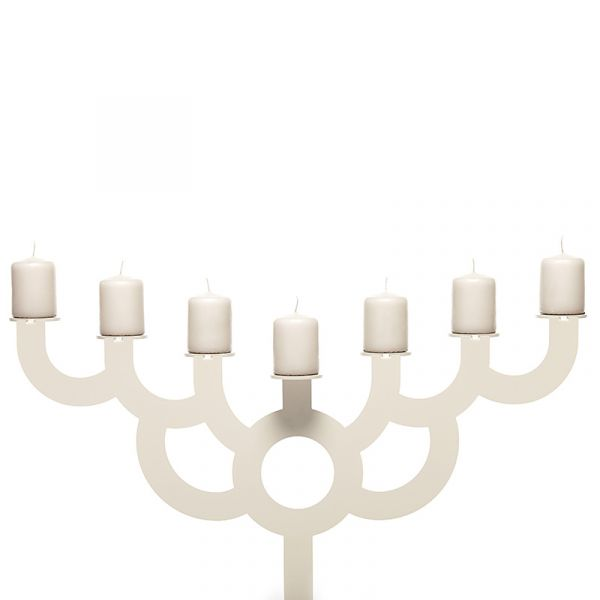 Moooi Menorah Bold Box of Candles Set Of 7 Silk