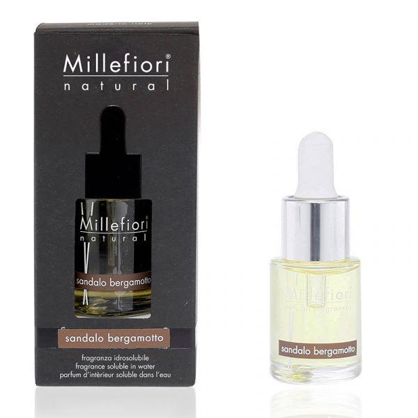 Millefiori Milano 15ml Natural Sandalo Bergamotto Fragrance for Ultrasound Diffuser